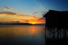 Maigan Island Sunset - 3 (Dato' Professor Dr. Jamaludin Mohaiadin) Tags: sunset island photo nikon malaysia nikkor prof sabah maigan dato d90 1755mm jamaludin mohaiadin