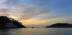 Sail On By (Bricheno) Tags: sunset sea espaa mer island mar spain espanha mediterranean yacht espana mallorca spanien spagna spanje majorca baleares soller portdesoller  espanya balears  illesbalears balearics hiszpania islasbaleares sller portdesller   bricheno