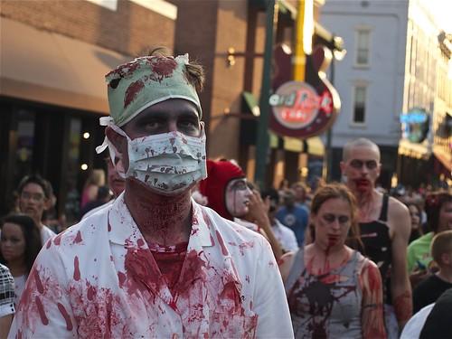 'Zombie'-Coronavirus  Flu Hysteria, From FlickrPhotos