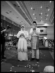 P5260142-Edit (aizuddindanian) Tags: family wedding bw beautiful groom bride prayer hijab handsome olympus panasonic event reception cousin f18 nuptials 45mm f25 omd doa shah alam 14mm aizuddin em5 sirim danian