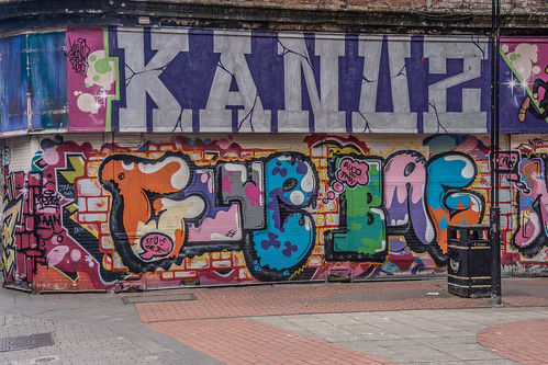 Belfast Streetart (Lower Garfield Street)