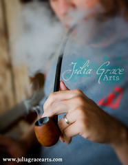 Pipe (Julia Grace Arts) Tags: boy portrait stilllife man outdoors nikon hand masculine smoke manly pipe smoking ring d200 smoker tobacco waft pipesmoker virile