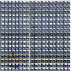 The photographer's loneliness (D 13) (Nespyxel) Tags: woman square alone loneliness photographer pov stadium perspective pointofview solo seats pixel reserved quadrato stadio geometrie solitudine geometries d13 seggiolini shottheshooter nespyxel stefanoscarselli tufototureto