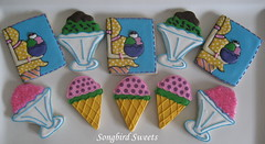 Ice Cream Social Baby Shower (Songbird Sweets) Tags: icecream babyshower sugarcookies icecreamcones icecreamsundaes songbirdsweets