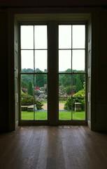 Belsay Castle and Gardens (AJoStone) Tags: castle window garden belsay