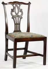 12.  Chippendale Style Side Chair