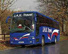 JAK Travel (MattyCoachMan) Tags: travel buses volvo panther coaches jak keighley b9 plaxton