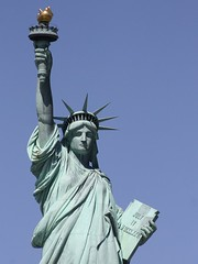 The Statue of Liberty: Give me your rich