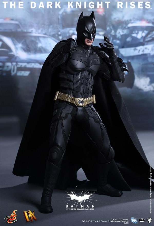 Hot Toys - DX12 - 黑暗騎士:黎明升起 1/6 蝙蝠俠/ 布魯斯偉恩