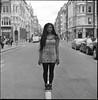(universal76) Tags: street portrait england london 120 streetportrait stranger hasselblad sp 000 ilford fp4 oxfordcircus 500cm
