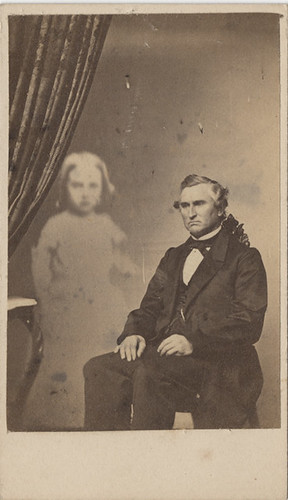 Man With Large Ghost Child Extra