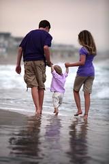 family reflections (J Cianfrani Photography) Tags: ocean portrait beach kids pier newjersey waves jetty nj oceancity oc brokenpier beachportrait 59thstbeach