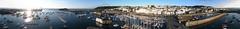 St Peter Port at sunrise - KAP panorama (Ningaloo.) Tags: kite st port marina sunrise photography boat kevin harbour yacht victoria aerial peter sdm kap seafront guernsey kiteaerialphotography rok lajoie autokap s95 aeriali kevinlajoie