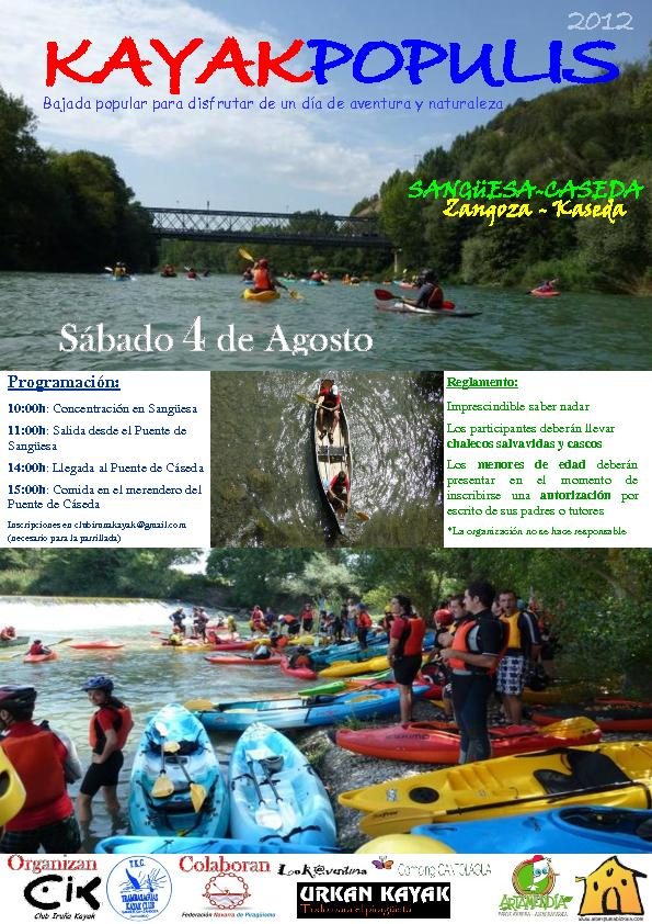 Cartel Kayakpopulis 2012