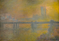 Claude Monet - Charing Cross Bridge London, 1901 at Art Institute of Chicago IL (mbell1975) Tags: bridge chicago london art painting french illinois gallery museu cross unitedstates fine arts musée musee m il institute monet charing impressionism claude museo impression impressionist muzeum 1901 müze museumuseum