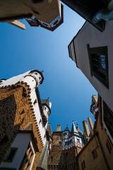 Looking Up (Erik Pronske) Tags: building castle germany ancient burgeltz fortress burg