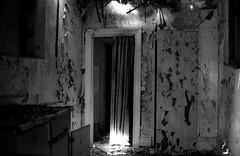 iron.curtain (jonathancastellino) Tags: light toronto building abandoned kitchen metal ruins peeling paint curtain ruin collapse francisbeale