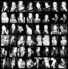 Weeksy's Wedding (----------------------xxx-----------------------) Tags: portrait people blackandwhite monochrome lomo lomography faces diana halfframe c41 dianamini