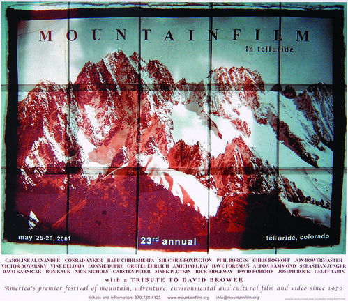 2001 Mountainfilm in Telluride Festival Poster