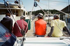50750026 (klamath_falls) Tags: film washington sailing pacificnorthwest sanjuanislands olympusxa