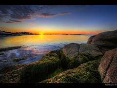 sweet reality (elmofoto) Tags: sunset seascape beach landscape coast nikon rocks tramonto fav50 cove massachusetts fav20 fav30 atlanticocean hdr highdynamicrange 500v d800 fav10 fav40 1424mm nikond800 elmofoto lorenzomontezemolo forcurators wwwelmofotocom