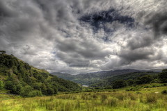 Watkins Path 2 (J.W.Turner) Tags: mountain tree grass rock wales clouds canon sheep hiking path tokina snowdon snowdonia hdr watkins 1224 nant gwynant 60d