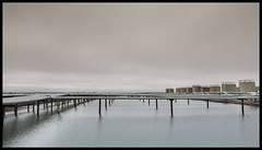 Straws (Ryan Kimball) Tags: alaska fuji fujifilm x100s 16x9 clouds overcast xtrans arctic industrial
