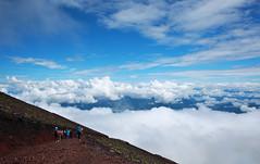 (Steve only) Tags: olympus pen ep5 panasonic lumix g vario 14714 asph 7144 714mm f4 m43 landscape snap sky cloud mountain fujisan japan  hiking