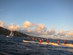 IMG_6849 (nautical2k) Tags: waikikibeachboys paddling outrigger canoe diamondhead honolulu oahu