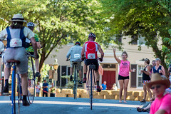 Highwheel Race (8-13-16)-262 (nickatkins) Tags: bike bikes biker bikers bikerace bikeraces bikeracing cycling cyclist race bicycle bicycling bicyclist highwheel old oldtime frederick historic