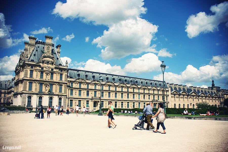 2016.8.28 ▐ 看我的歐行腿▐ 法國巴黎凱旋門、香榭麗舍間的歷史之道 13