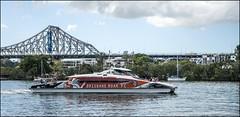 Brisbane ROAR CityCat passing by-1= (Sheba_Also 11,000,000 + Views) Tags: brisbane roar citycat passing by river