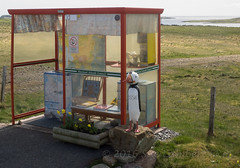 World famous 'Bobby's Bus Shelter' (Nanooki ) Tags: scottishisles unst scotland unitedkingdom gb haroldswick busshelter fetlar shetlandislands