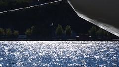 View from Riddarholmen (mpersson60) Tags: sverige sweden stockholm vatten water reflections speglingar båt boat träd trees