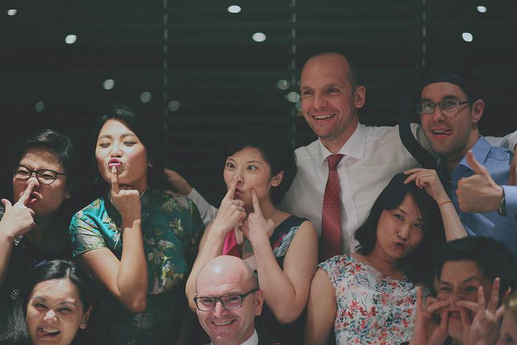 婚禮攝影-做鬼臉