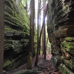 Ryan Schmit (North Country Trail) Tags: hike100nct hiking troy scioto oldmanscave lakelogan backpacking waterfall tower