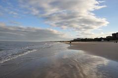 Low tide (Kirkleyjohn) Tags: lowestoft lowestoftsouthbeach beach sands sea seaside seashore seascape reflection clouds