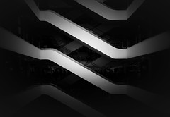 Davy Jones (Panda1339) Tags: london futuristic sloansquare abstract architecture blackandwhite uk monochrome open house 2016 nikon peter jones 24mm