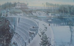 Newly opened (seanofselby) Tags: lesnianskie dam hydroelectric