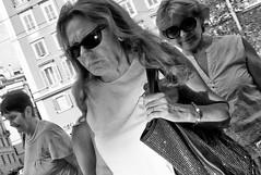 Invisible me!! (Baz 120) Tags: candid candidstreet candidportrait city candidface candidphotography contrast street streetphoto streetphotography streetphotograph streetportrait streetfaces rome roma romepeople romecandid romestreets monochrome monotone mono blackandwhite bw urban noiretblanc voigtlandercolorskopar21mmf40 life leicam8 primelens portrait people unposed italy italia girl grittystreetphotography flashstreetphotography faces flash decisivemoment strangers