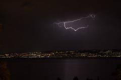 Orage sur le Lman. (schatanay) Tags: eos350d suisse paysage vaud france lman rhonealpes hautesavoie canon lac ef2470mmf28liiusm orage ch