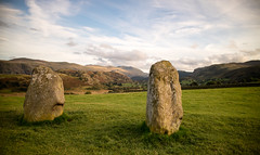 Two old standing stones. (Tall Guy) Tags: tallguy uk lakedistrict cumbria castleriggstonecircle standingstones