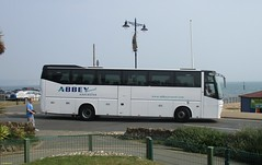 Bova Magiq bodied Bova FHD122-340 YJ05FXV in Shanklin 27 August 2016 (IslandYorkie) Tags: buses busesinthesouthofengland busesontheisleofwight singledeckers coaches bovabuses bovafhd122340 bovamagiq yj05fxv abbeytravel shanklin isleofwight