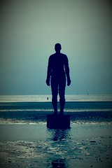 Another Place (pjfchad) Tags: crosby anotherplace liverpoolbay seaside beach sand irishsea sea statue antoneygormley antoneygormleyanotherplace