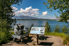 Jackson Lake Dam Exhibit (GrandTetonNPS) Tags: unitedstates grandteton natio nationalpark