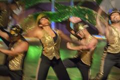 Golden Celebration (ScarletBlack) Tags: dance dancers motion motionblue energy movement photoimpressionism confidance motionblur