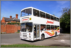 Weed on my plans....... (Jason 87030) Tags: weedon bec barrcaks heritage history historic englisg september 2016 morning citybus rothwell operator doubledecker f603gvo