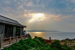 (DSC_1722) (nans0410(busy)) Tags: japan  yamaguchi sunset outdoors scenery rays cloud sky