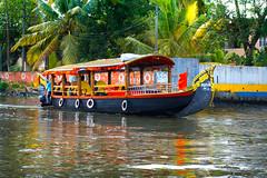 Beautiful Shikara Boat (wandercrumbs) Tags: alleppeyalappuzha backwaters