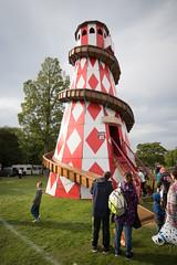 Widnes fair helter skelter 02 sep 16 (Shaun the grime lover) Tags: widnes halton cheshire lancashire victoria park vintage rally fair fairground helter skelter slide tower